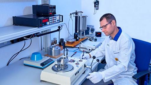 تست کالیبره در آزمایشگاه